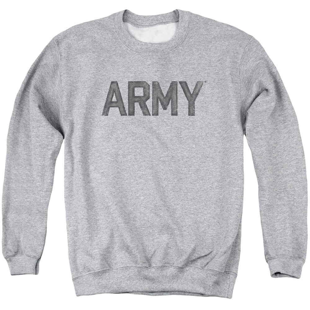 Army Star Mens Crewneck Sweatshirt