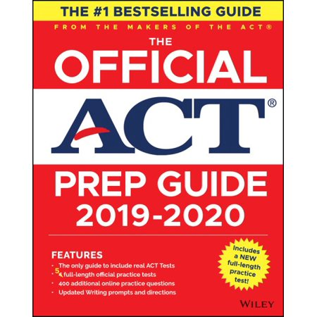 The Official ACT Prep Guide, (Book + Bonus Online (The Real Act Prep Guide 2nd Edition)