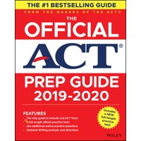 The Official ACT Prep Guide, (Book + Bonus Online Content)