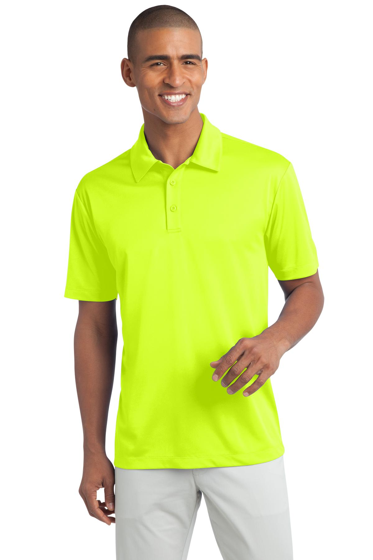 ef4d6ccd Port Authority® Tall Silk Touch™ Performance Polo. Tlk540 Neon ...