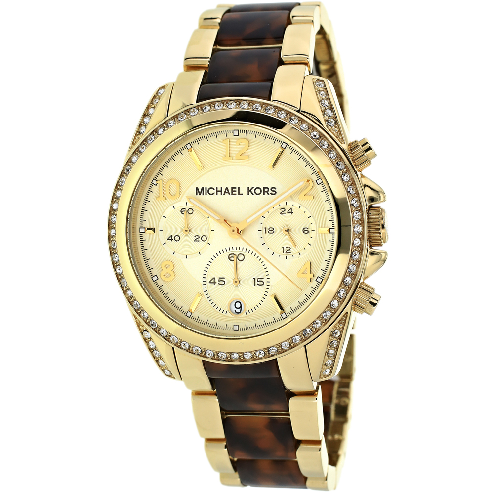 Michael Kors Women's Blair Watch Quartz Mineral Crystal MK6094