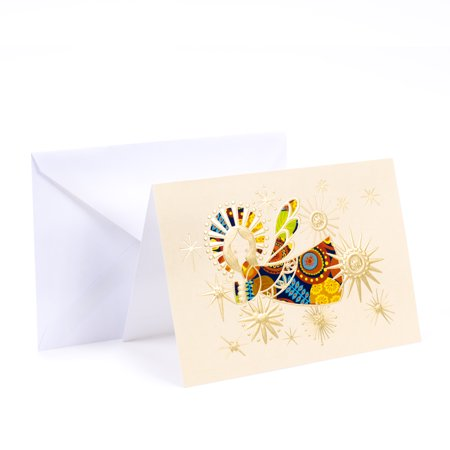 (12 Cards and 13 Envelopes) Hallmark UNICEF Christmas Boxed Cards, Shining Angel Blessing ()