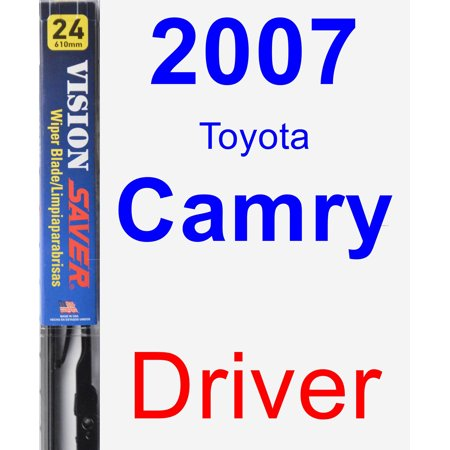 2007 Toyota Camry Driver Wiper Blade - Vision Saver ()