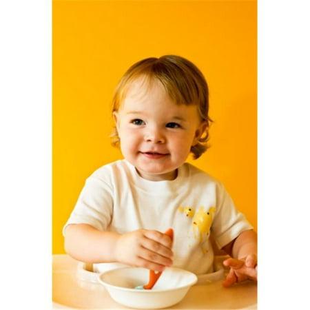 Uh-oh industries ML20236WH La ligne malpropre - Blanc AB-Oop Cs 3-6 mois onesie - image 1 de 1