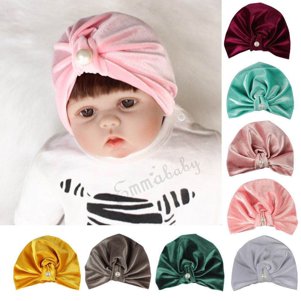 58dfc7270e15e6 Urkutoba - Cute Newborn Toddler Kids Baby Boy Girl Indian Turban Knot  Cotton Beanie Hat Cap - Walmart.com