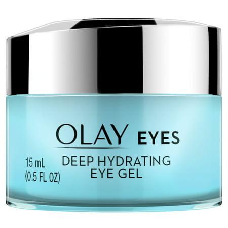 - Olay Eyes Deep Hydrating Eye Gel with Hyaluronic Acid, 0.5 fl oz