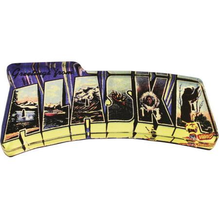 - Alaska Acrylic Postcard Magnet