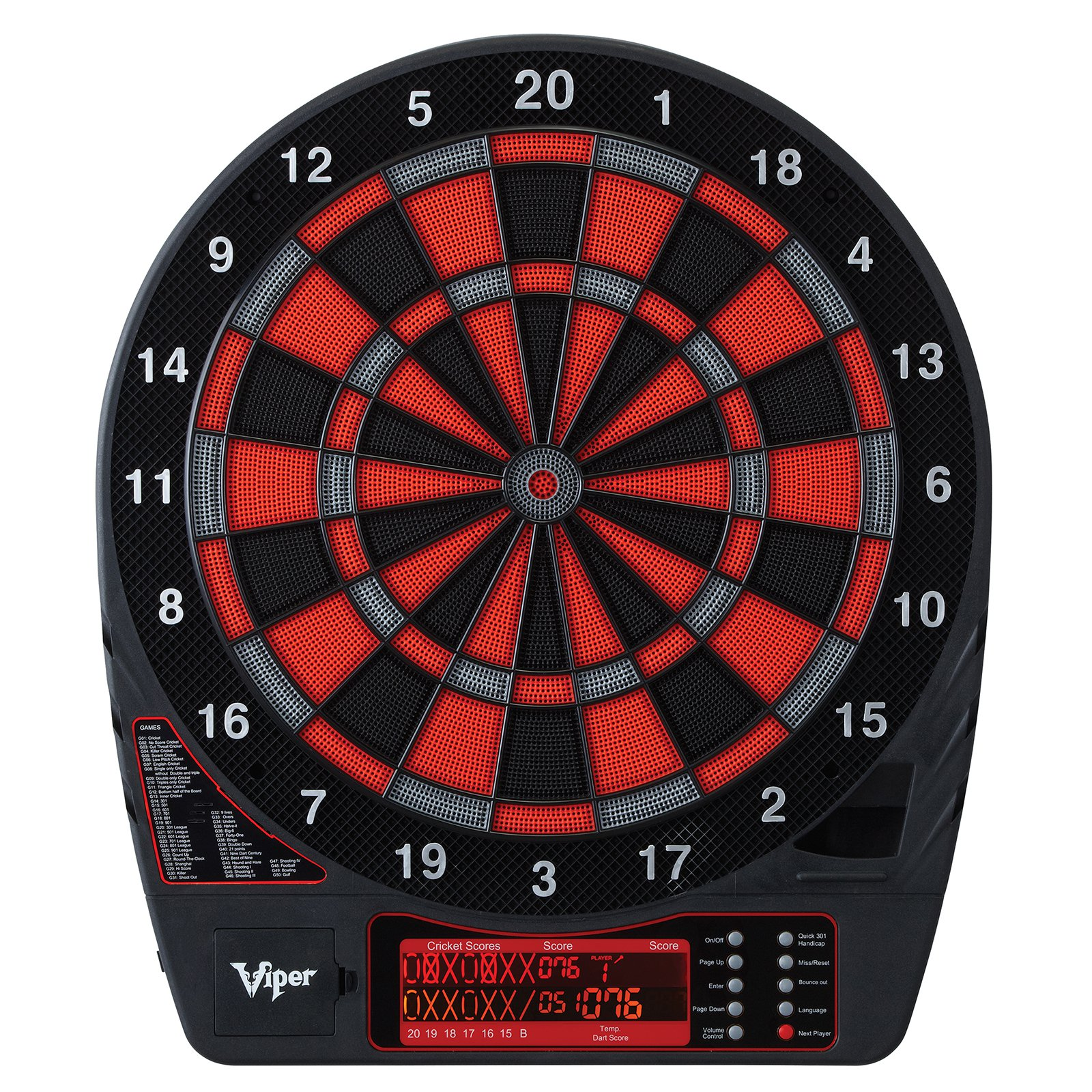 Viper Specter Electronic Dart Board and Darts Set by Viper