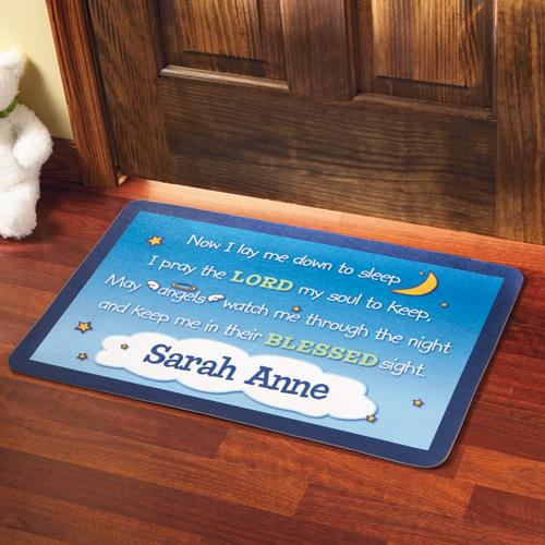 Personalized Bedtime Prayer Doormat