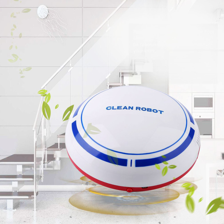Home Intelligent Automatic Sweeper Cleaning Robot Vacuum Cleaner High Suction Drop-Sensing Technology Mute Automatic Floor Cleaning Robot On Sale