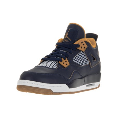 brand new 91cf1 4964a Nike Jordan Kids Air Jordan 4 Retro BG Basketball Shoe - Walmart.com