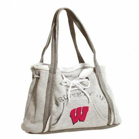 Pro-FAN-ity by Littlearth 71070-UWIS NCAA Wisconsin  University of Hoodie Purse