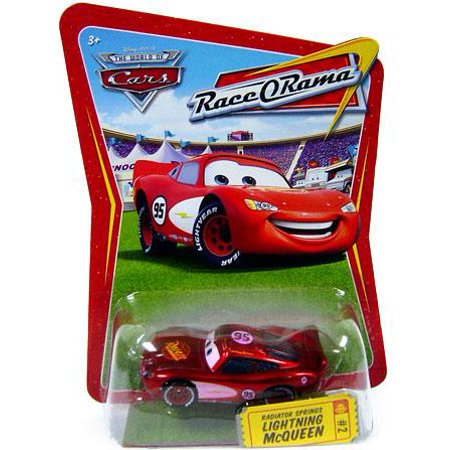 Disney Cars Race O Rama Radiator Springs Lightning Mcqueen Diecast