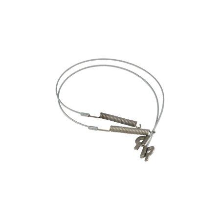 Eckler's Premier  Products 25-107721 - Corvette Convertible Top Tension Cables Side Tension Convertible Top Cables