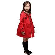Girl Baby Kid Hooded Coat Jacket Outwear Raincoat