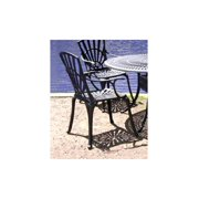 Dining Arm Chair in Charcoal - Monte Carlo
