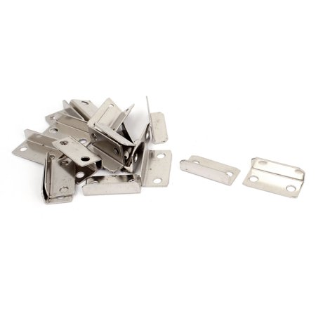 20 Pcs 28mmx13mmx8mm 90 Degree Angle Bracket Corner Brace Fasteners