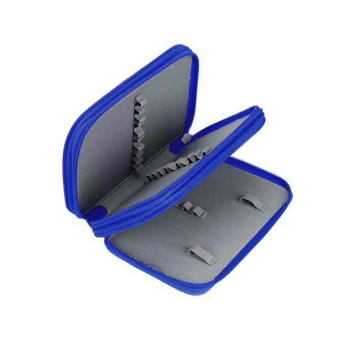 Mosunx Portable Drawing Sketching Pencils Pen Case Bag for 32pcs Pencils