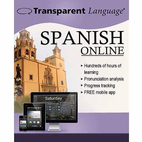 Transparent Language Online Spanish (12 Month) (Digital Code)