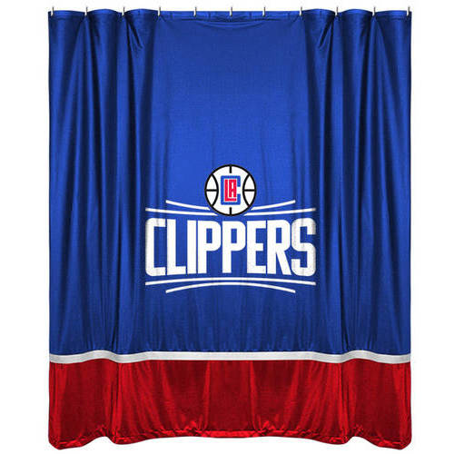 NBA Clippers Shower Curtain