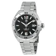 Tag Heuer Formula 1 41mm Date Automatic Mens Watch WAZ2113.BA0875