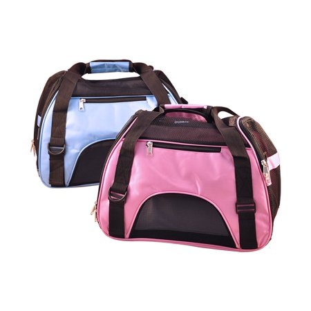 Pet Carrier for Dogs & Cats Portable Package - Pink Dog Carrier