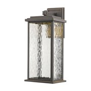 Artcraft Lighting AC9072 Sussex Single Light LED Outdoor Wall Sconce