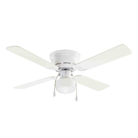 mainstays 42 ceiling fan with lighting white ceiling fan