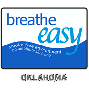 Traffic Signs - Oklahoma No Smoking Sign 2 12 x 18 Magnet Sign Street Weather Approved Sign