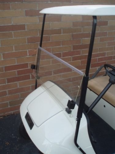 CLEAR Windshield for EZGO TXT Golf Cart 1995 & Up by