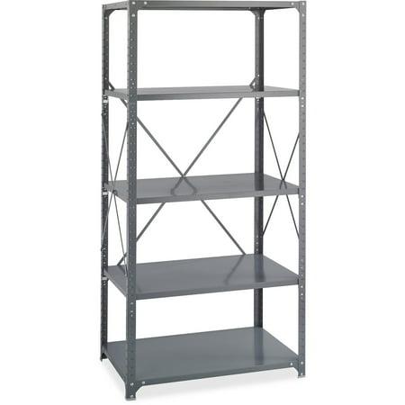 Safco, SAF6266, Commercial Shelf Kit, 1 Each, Dark Gray