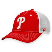 Philadelphia Phillies Fanatics Branded Sport Resort Trucker Snapback Hat - Red/White - OSFA