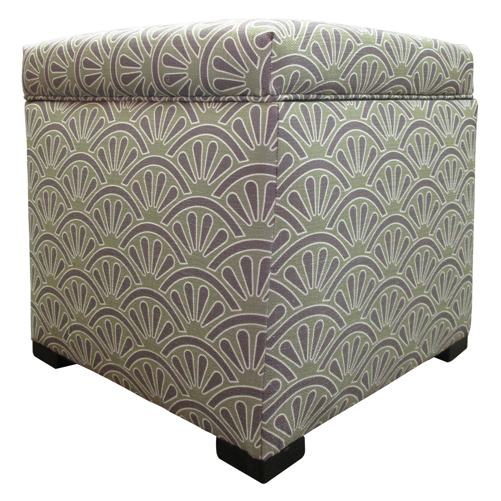 Sole Designs Tami Collection Bonjour Series Upholstered Bedroom Storage Ottoman