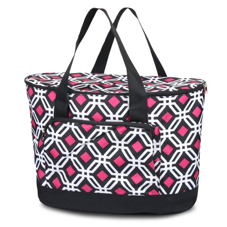 13327cdfd52 Zodaca Fashionable Large Insulated Cooler Tote Carry Box Food Storage Bag  for Camping Beach Travel - Walmart.com