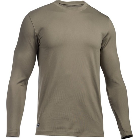 Under Armour Mens ColdGear Infrared Tactical Fitted Crew Under Armour Apparel 1244394