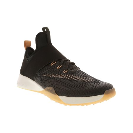 5c508d7de47a5 Nike Women s Air Zoom Strong Black   Metallic Red Bronze Ankle-High  Training Shoes ...