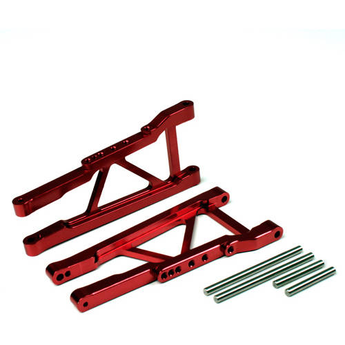 Alloy Front Lower Arm for Traxxas Slash 4X4, 1:10, Red