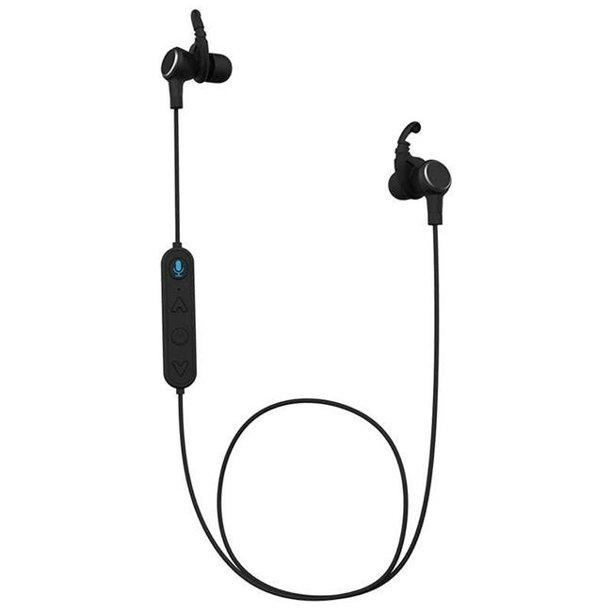 Tzumi 5539jcp Super Long Range Bluetooth Headset With Wireless Earphone 44 Black Walmart Com Walmart Com