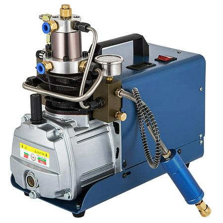 BestEquip High Pressure Air Pump 30Mpa 4500Psi PCP Air Compressor For Airgun Scuba Rifle