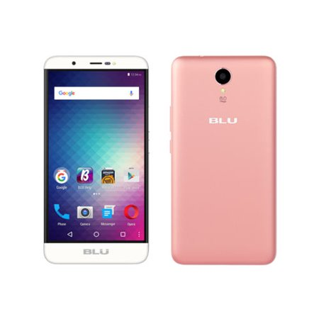 "BLU Energy X Plus 2 E150q 5.5"" Cell Phone GSM 3G 8GB Unlocked Android Rose Gold"