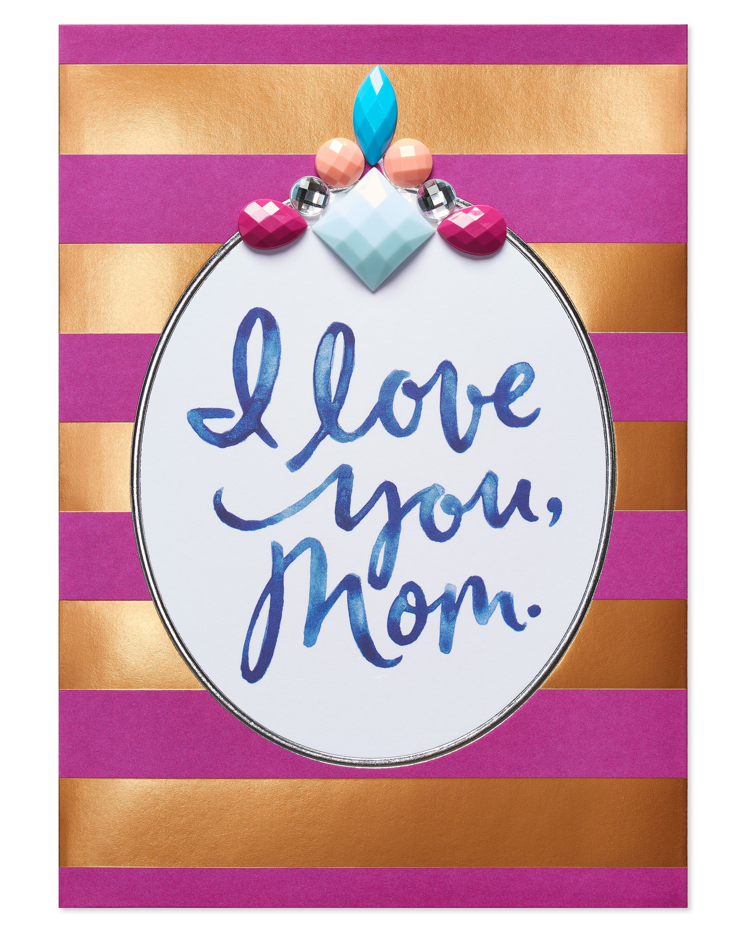 American Greetings Open Heart Mothers Day Card With Foil Walmart