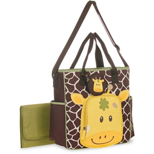Baby Boom Giraffe Face Tote Diaper Bag