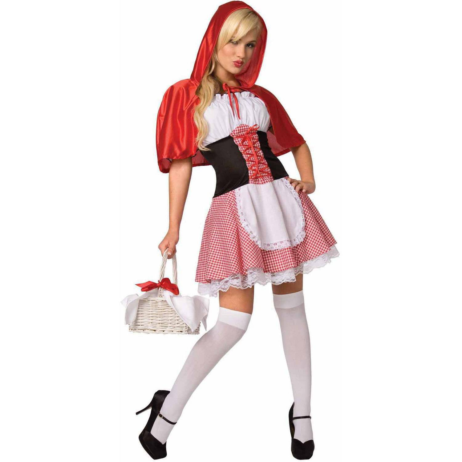 Red Riding Hood Women's Adult Halloween Costume