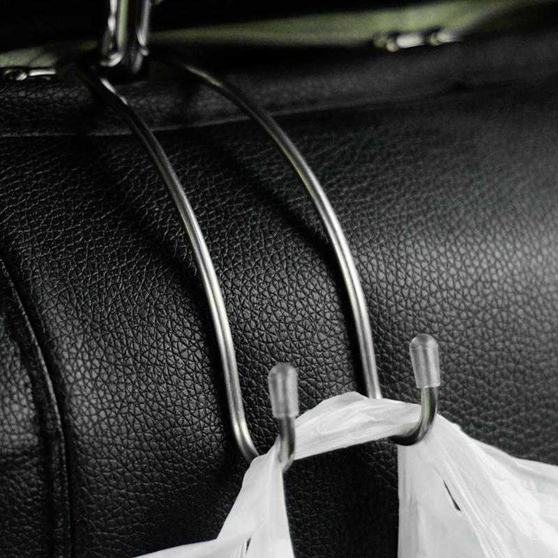 1pc Black Car Seat Hook Purse bag Hanger Bag Organizer Holder Clip Accessories//
