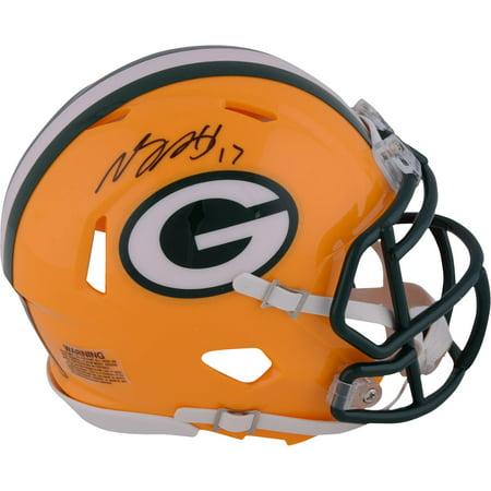 Davante Adams Green Bay Packers Autographed Riddell Speed Mini Helmet - Fanatics Authentic (Authentic Riddell Mini Helmet)
