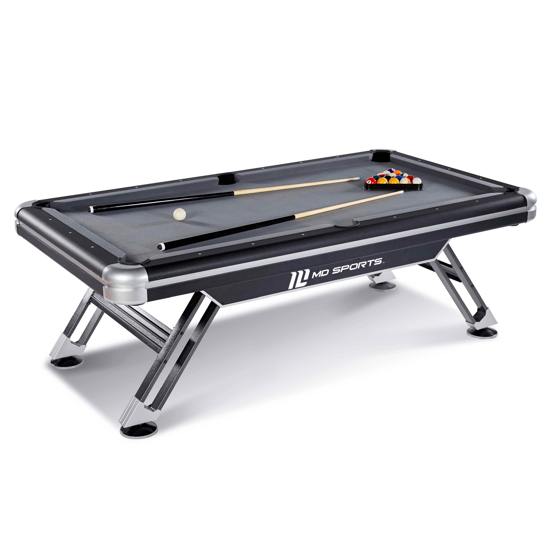 MD Sports Titan 7.5 ft Billiards Pool Table