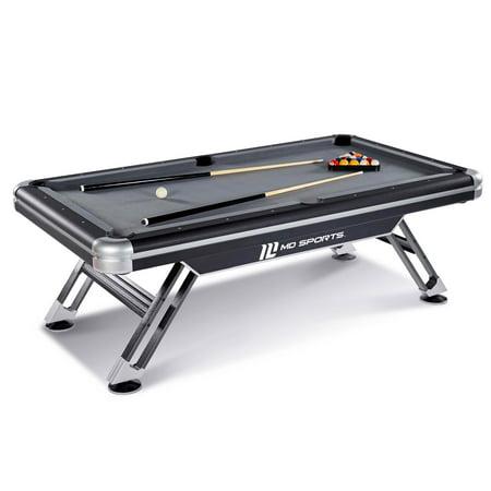 MD Sports Titan 7.5 ft Billiards Pool - Halloween Pool Table