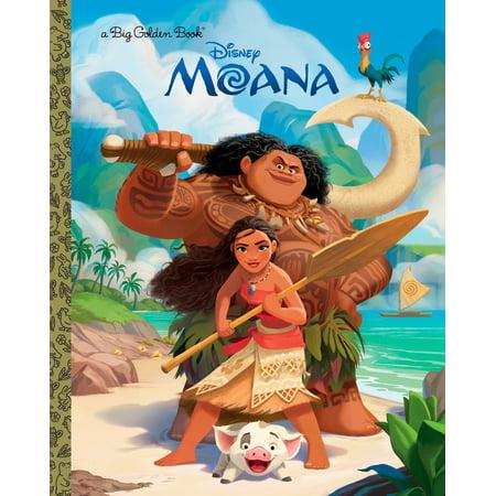 Disney Book - Moana Big Golden Book (Hardcover)