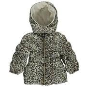 """Pink Platinum Baby Girls' """"Snow Runner"""" Insulated Jacket - cream, 12 months"""