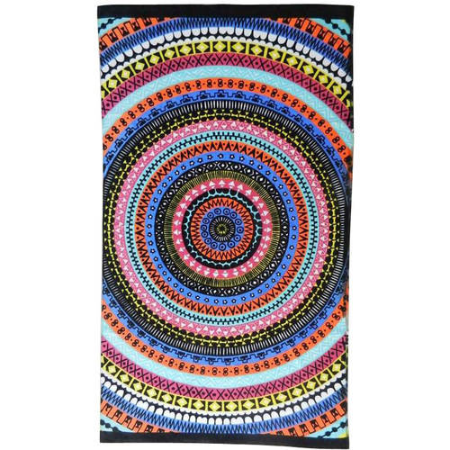Better Homes and Gardens Oversized Print Beach Towel, Global Medallion